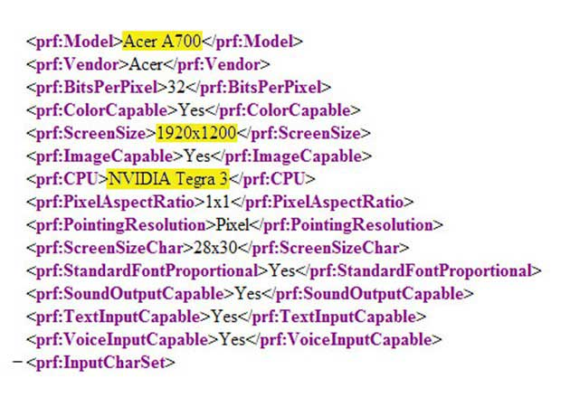 Acer A701, tablet Tegra 3 con resolución Full HD 29