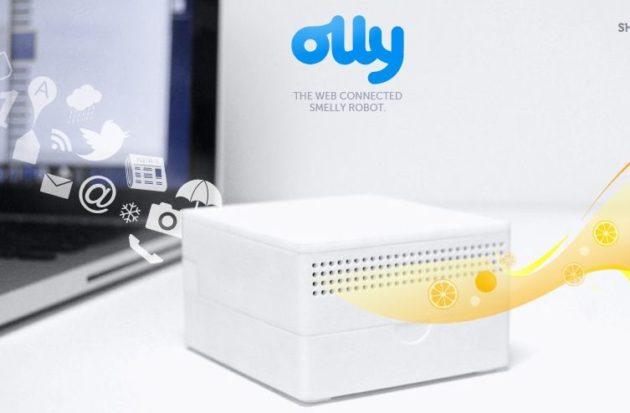 ¿A qué huele Internet? Nuevo periférico USB Olly