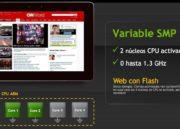 Configuración uso moderado navegación con Flash - 2 núcleos
