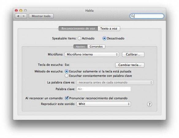 Utiliza Mac OS X Lion como si fuera Siri