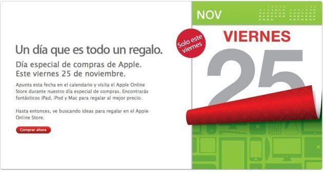Black Friday en Apple este próximo viernes 25 de noviembre para todos