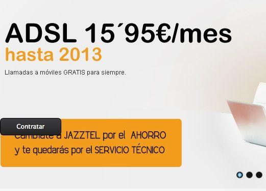 Jazztel responde a Movistar: ADSL 12 megas por 15,95€/mes