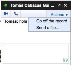 Envía archivos a través del chat de Google, desde Google Plus 27