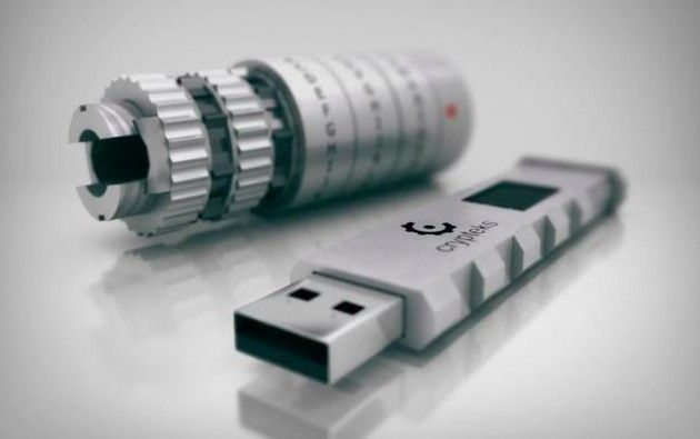 Crypteks USB: pendrive seguro con contraseña física y cifrado AES
