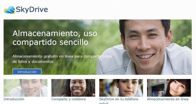 Microsoft rediseña SkyDrive, mejor rendimiento y funcionalidad
