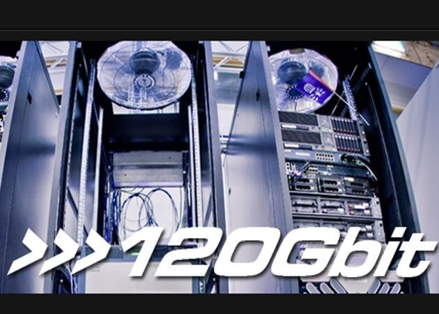 DreamHack120Gbps Cisco y Telia activarán en el DreamHack la conexión más rápida del mundo: 120 Gbps