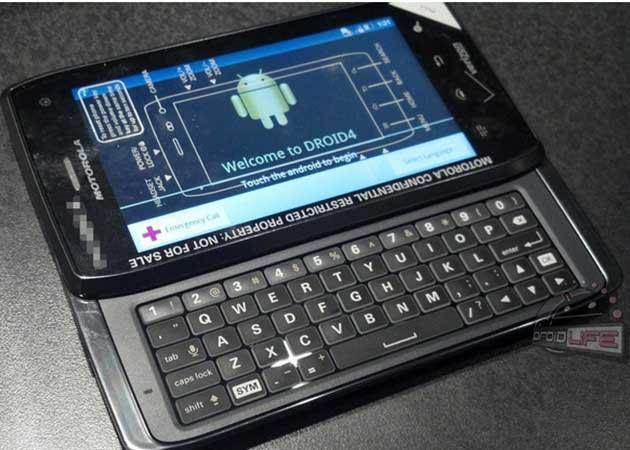 El DROID 4 de Motorola aprovecharía el tirón del lanzamiento del Galaxy Nexus