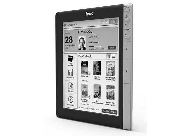 Fnacbook, el lector de ebooks de Fnac