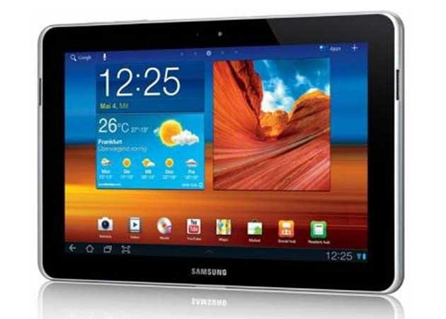 Samsung rediseña mínimamente el Galaxy Tab 10 para superar el veto alemán