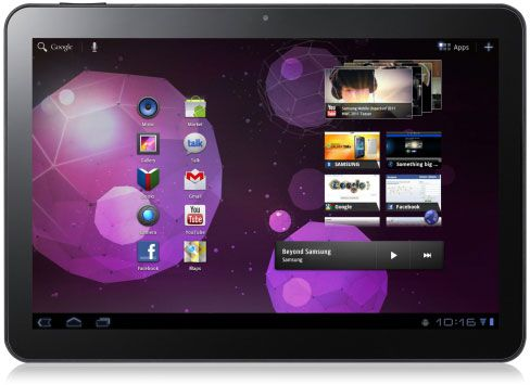 Android HoneyComb llega oficialmente a Samsung Galaxy Tab 10.1