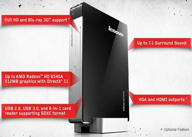 Lenovo IdeaCentre Q180, el desktop PC más pequeño del mundo