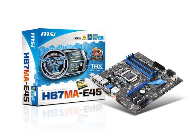 MSI H67MA-ED45