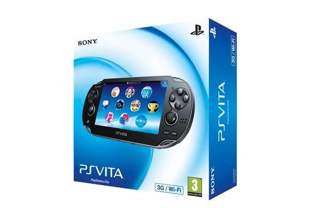 PS Vita 3G en Europa con Vodafone