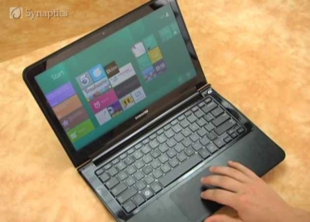 Synaptics muestra ClickPad, touchPad avanzado para Windows 8