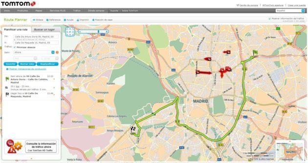 TomTom presenta su manifiesto de tráfico con un microatasco 33