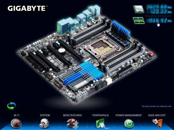 X79 3D BIOS 03 575px Gigabyte muestra la primera BIOS 3D del mercado, apta para cualquier usuario