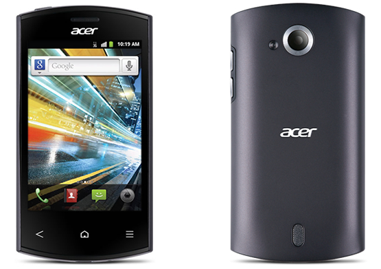 acer liquid express Acer Liquid Express, smartphone Android con soporte NFC