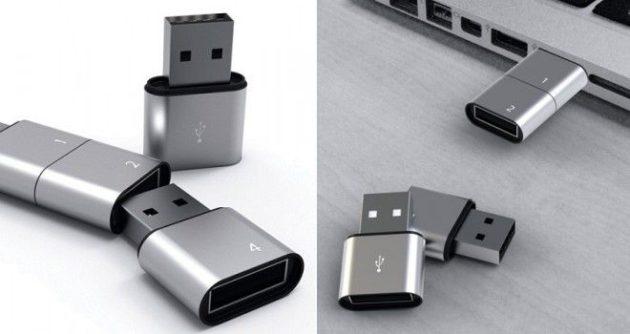Amoeba, el pendrive USB modular