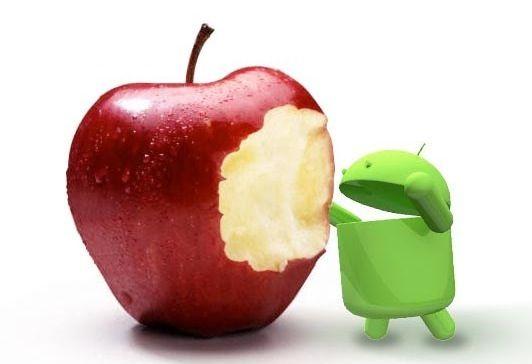 Los beneficios de las apps de Android son un 7% de las de los iPhone