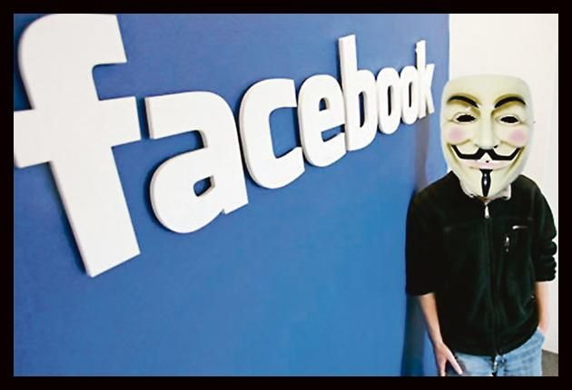 anonymous Anonymous aborta su ataque a Facebook