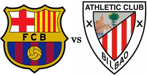 F.C. Barcelona vs Athletic Club de Bilbao streaming vídeo en directo