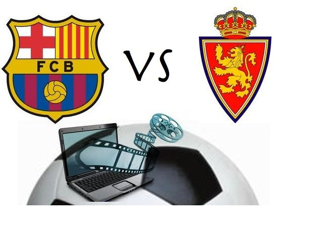 F.C. Barcelona – Real Zaragoza, on-line gratis vía streaming en directo
