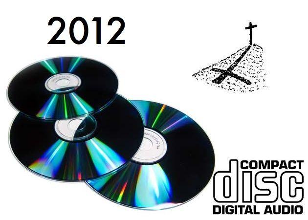 El CD -Compact Disc- musical morirá en 2012