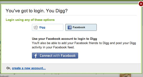 digg facebook connect Los comentarios públicos de Facebook aparecerán en Google