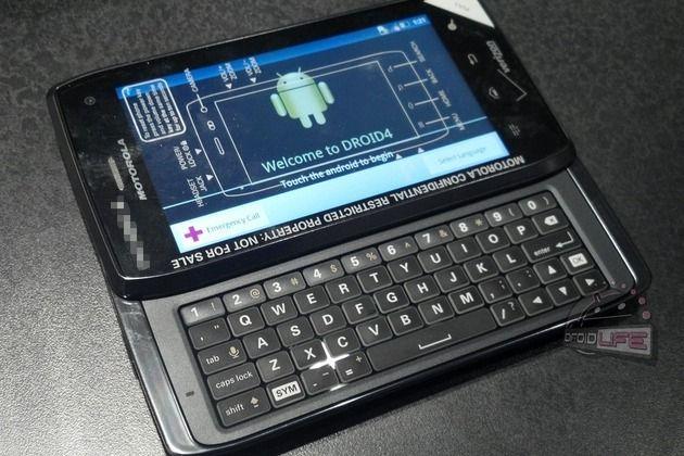 Se filtran las especificaciones de Motorola DROID 4