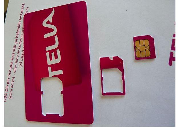 NanoSIM, continúa la miniaturización de las tarjetas para móvil