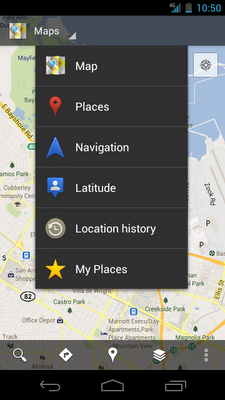 Google Maps 6.0 llega a Android con mapas para interiores y nueva interfaz