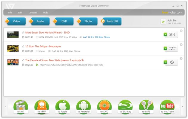 Freemake Video Converter 3.0.0, ahora con soporte HTML5
