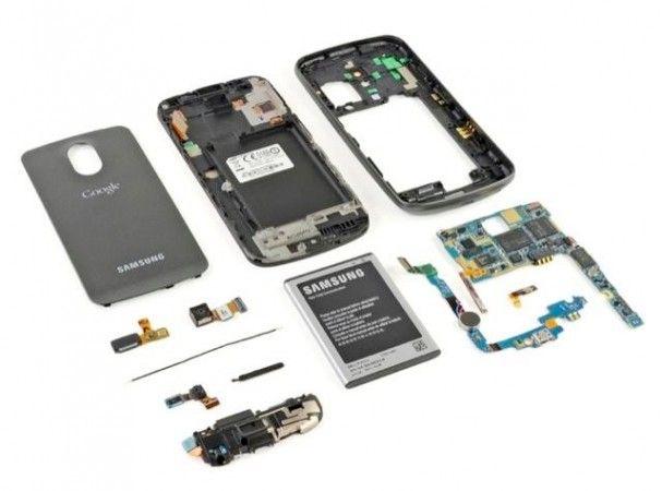 Google Galaxy Nexus, el despiece