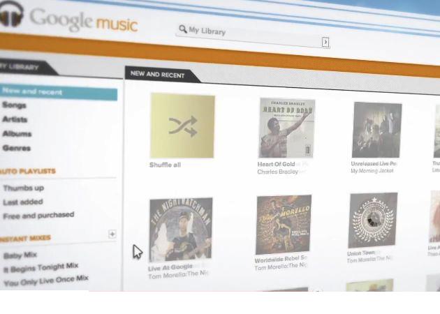 Google Music comienza su andadura real