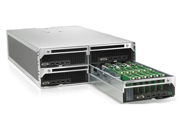 HP y Calxeda lanzan servidor basado en SoCs ARM: Project Moonshot