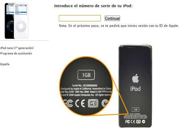 Apple reemplaza los iPod nano 1 sobrecalentados