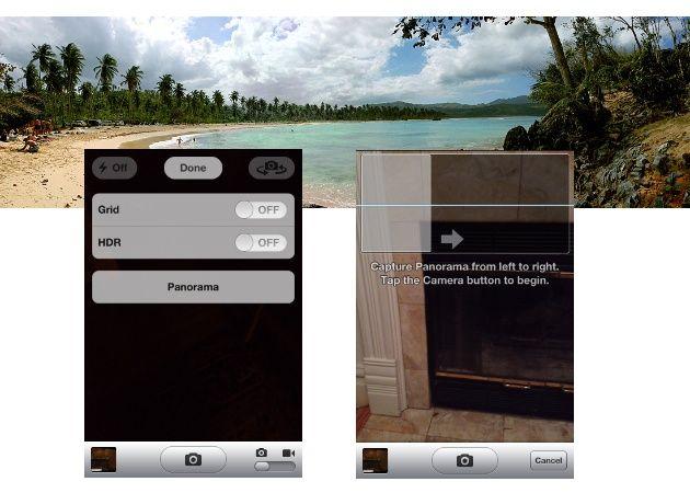 Saca fotos panorámicas en iOS 5 de manera nativa