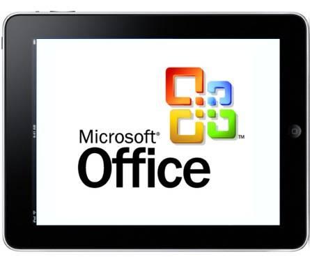 Microsoft lanzará Office para el iPad en 2012