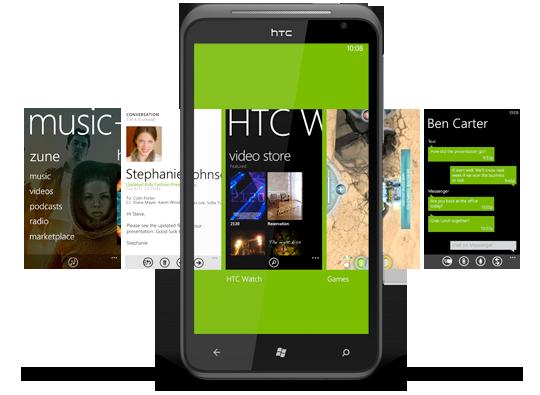 HTC Titan Windows Phone