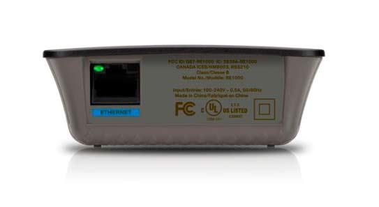 Linksys Wireless-N Range Extender RE1000 28