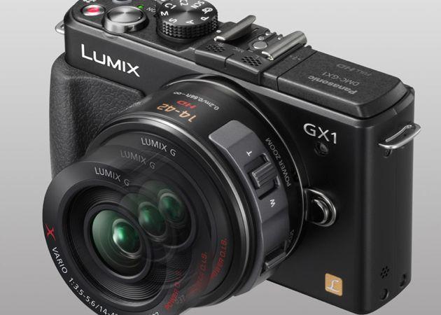 Panasonic Lumix GX1, en diciembre en tiendas
