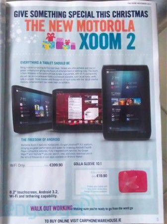 Motorola Xoom 2, disponible en navidades desde 399 euros 32