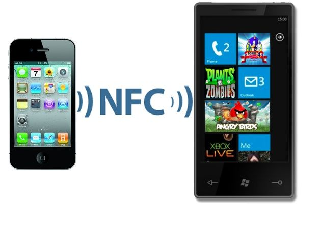 2012 será el año de la llegada de NFC a iPhone y Windows Phone