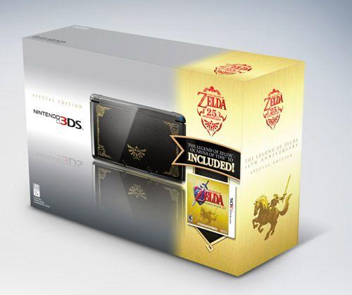 Ediciones especiales Nintendo 3DS con Zelda y Super Mario 3D