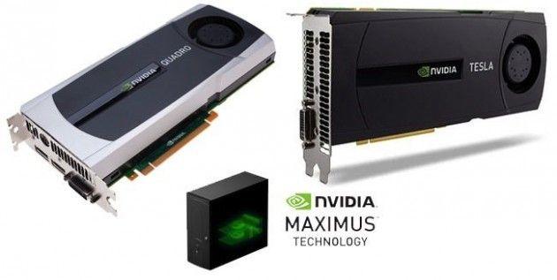 NVIDIA Maximus, certificación de estaciones de trabajo Quadro+Tesla