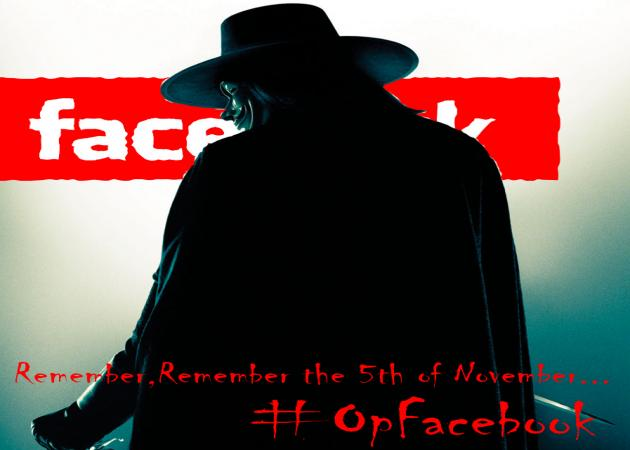 ¿Cumplirá Anonymous su amenaza y fulminará a Facebook mañana?