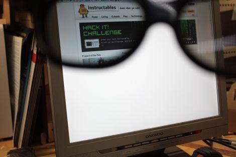 Cómo crear un monitor de uso privado con gafas 3D de cine
