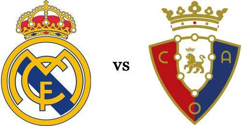 Real Madrid vs Osasuna on-line vía streaming