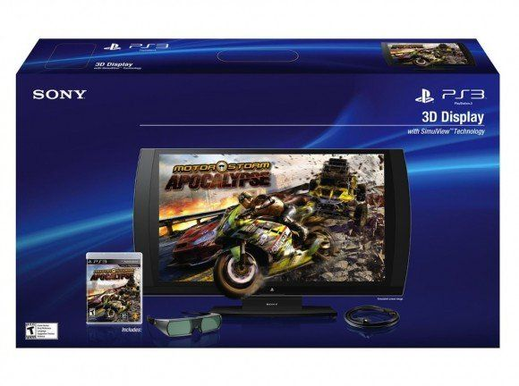 Sony PlayStation 3D Display llegará a Europa en 2012