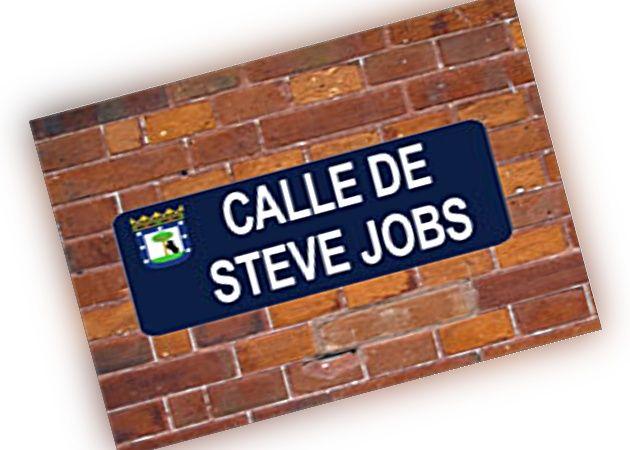 Madrid acogerá a Steve Jobs como calle, espacio público o institución cultural